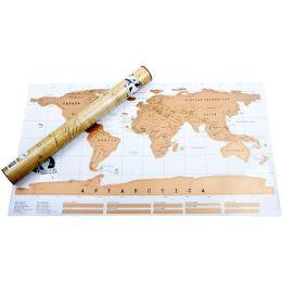 Скретч карта мира - подарок для путешественника