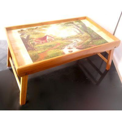 Столик для завтрака в постель деревянный