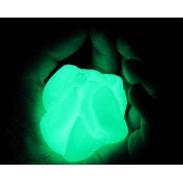 Жвачка для рук (Хендгам) светящаяся в темноте (зеленый)