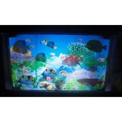 Ночник Аквариум с рыбками маленький