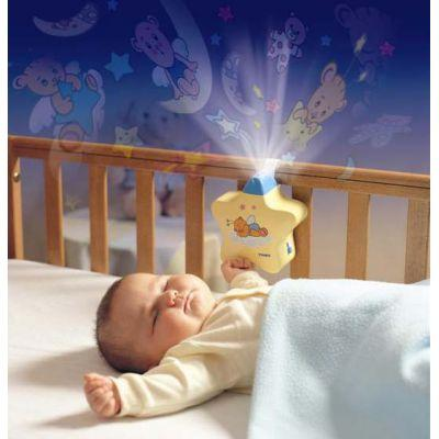 Волшебная звездочка - детский музыкальный ночник-проектор