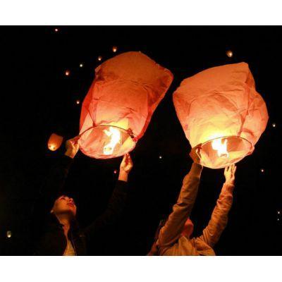 Небесные фонарики, китайские фонарики