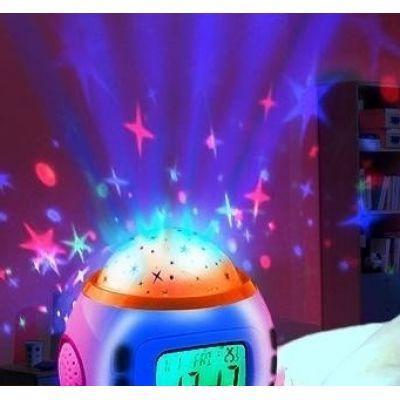 Музыкальные часы - проектор звездного неба