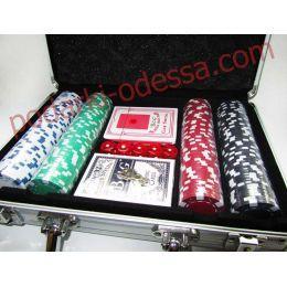 Покер в кейсе на 200 фишек с номиналом