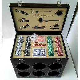 Покерный + винный набор