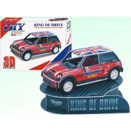 3Д пазл автомобиль mini cooper