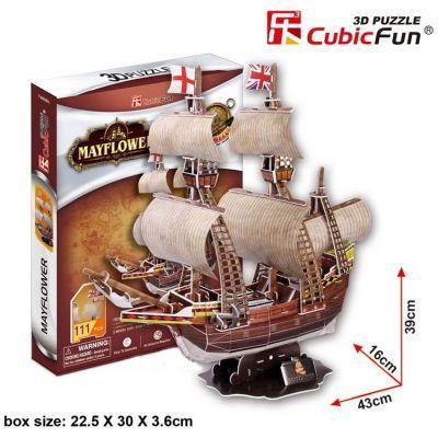 3Д пазл корабль Mayflower