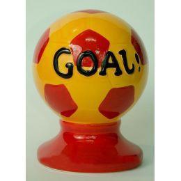 Копилка керамическая - Футбольный мяч