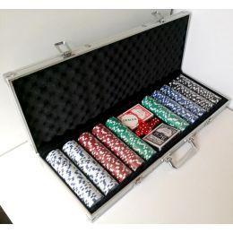 Покер в кейсе на 500 фишек