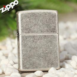 Зажигалка Zippo 121FB Antique Silver Plate
