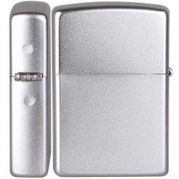 Зажигалка Zippo 205 Reg Satin Chrome