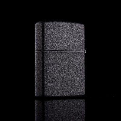 Зажигалка Zippo 236 REG BLACK CRACKLE