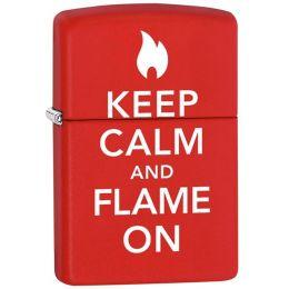 Зажигалка Zippo 28671 Keep Calm And Flame On