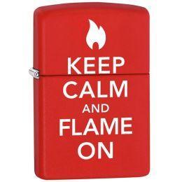 Зажигалка Zippo 28671 Keep Calm And Flame On