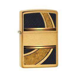 Зажигалка Zippo 28673 Gold and Black