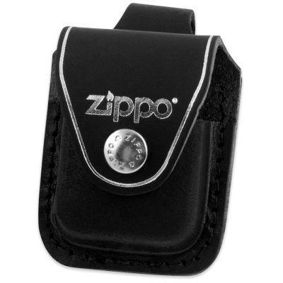 Чехол для зажигалки Zippo черный (петля)