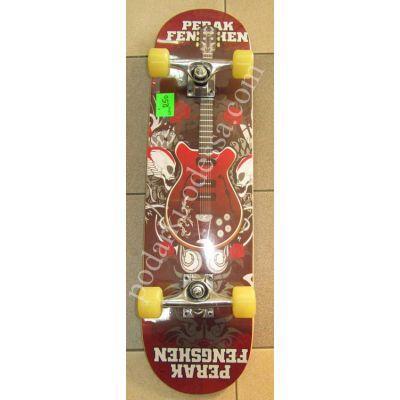 Купить скейт с рисунком гитары