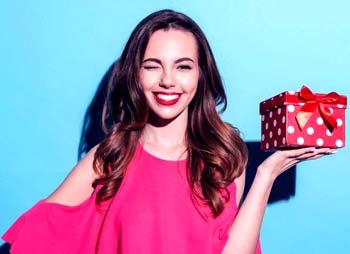 Подарок Девушке На День Рождения>