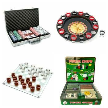 покерные наборы и алкогольные игры