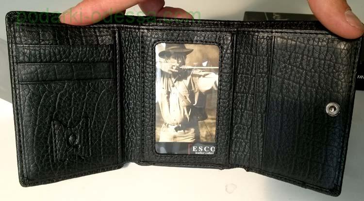 Кожаный женский кошелек ESCOS