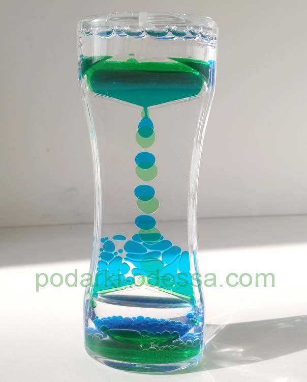 Жидкие часы - таймер
