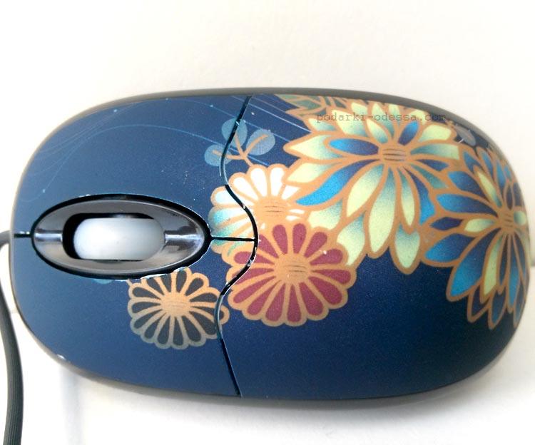 Мышь компьютерная оптическая USB