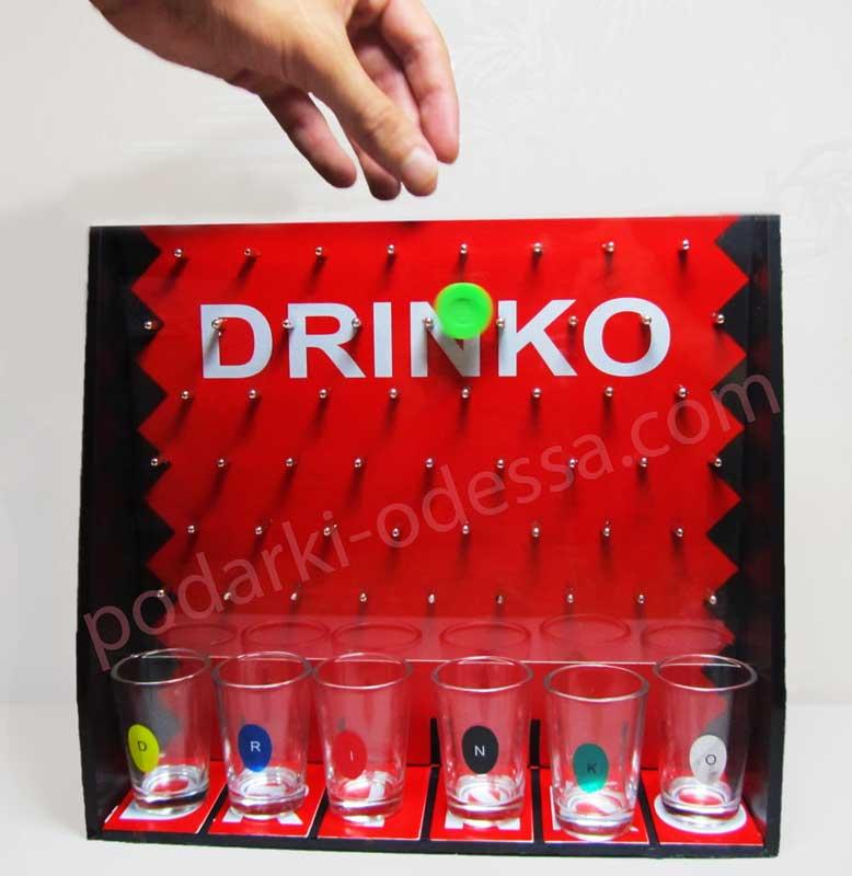 Алкогольная игра Drinko shot game для веселой компании купить в Одессе