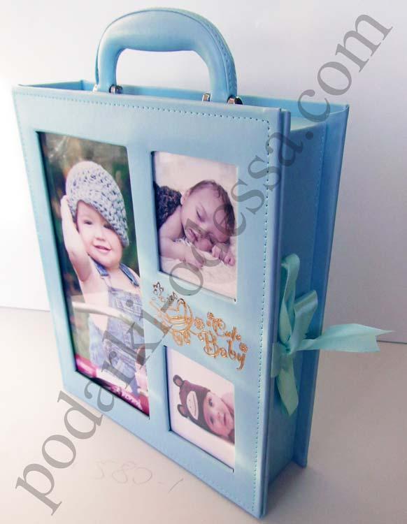 Детский подарочный альбом-чемодан для мальчика