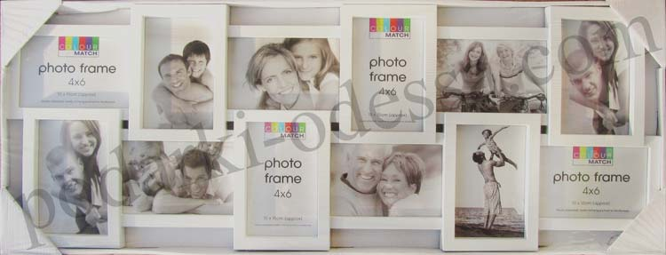 Рамка коллаж на 12 фотографий 10*15