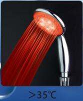 светящаяся светодиодная насадка на душ дешево