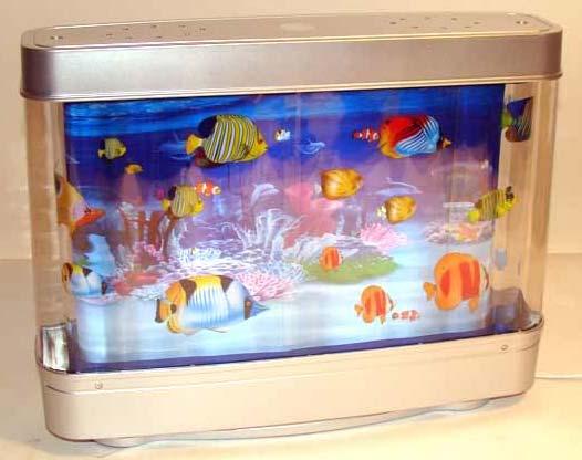 Ночник Аквариум с рыбками