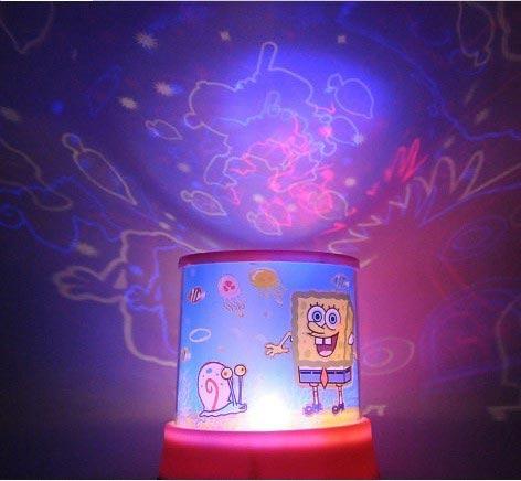 Купить подарок ребенку - детский ночник Спанч Боб