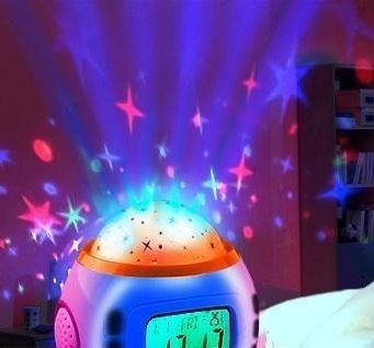 Купить музыкальные часы - проектор звездного неба в Одессе