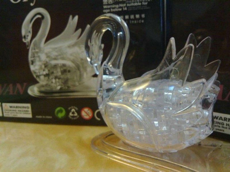 Купить 3Д пазл Лебедь в Одессе