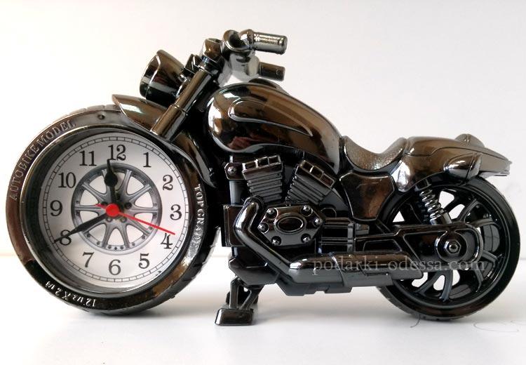 Часы мотоцикл - купить подарок для байкера