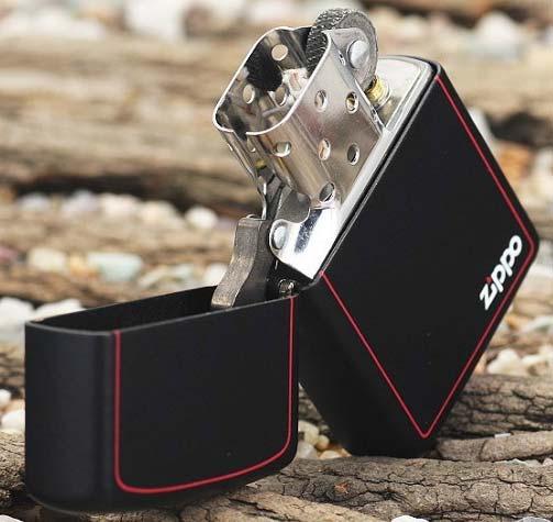 Зажигалка Zippo 218 ZB Black Matte
