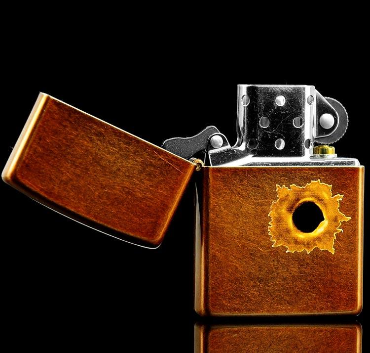 Зажигалка Zippo 24717 Bullet Hole
