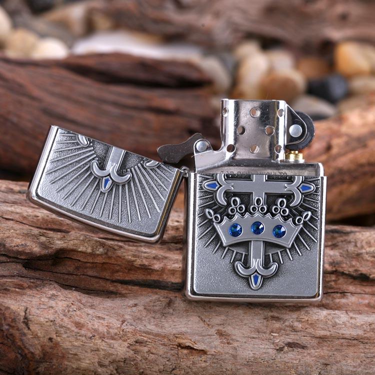 Зажигалка Zippo 24875 Crown and Cross