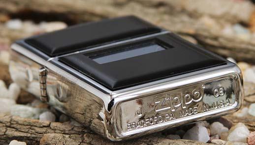 Зажигалка Zippo 355 Reg Ultralite Black