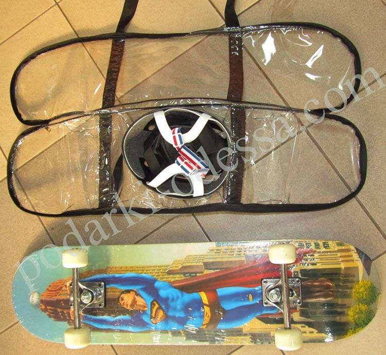 Купить скейт с защитой